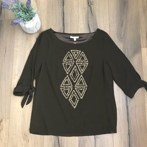 NWT Stitch Fix Skies are Blue Meldrum Sequin Top S